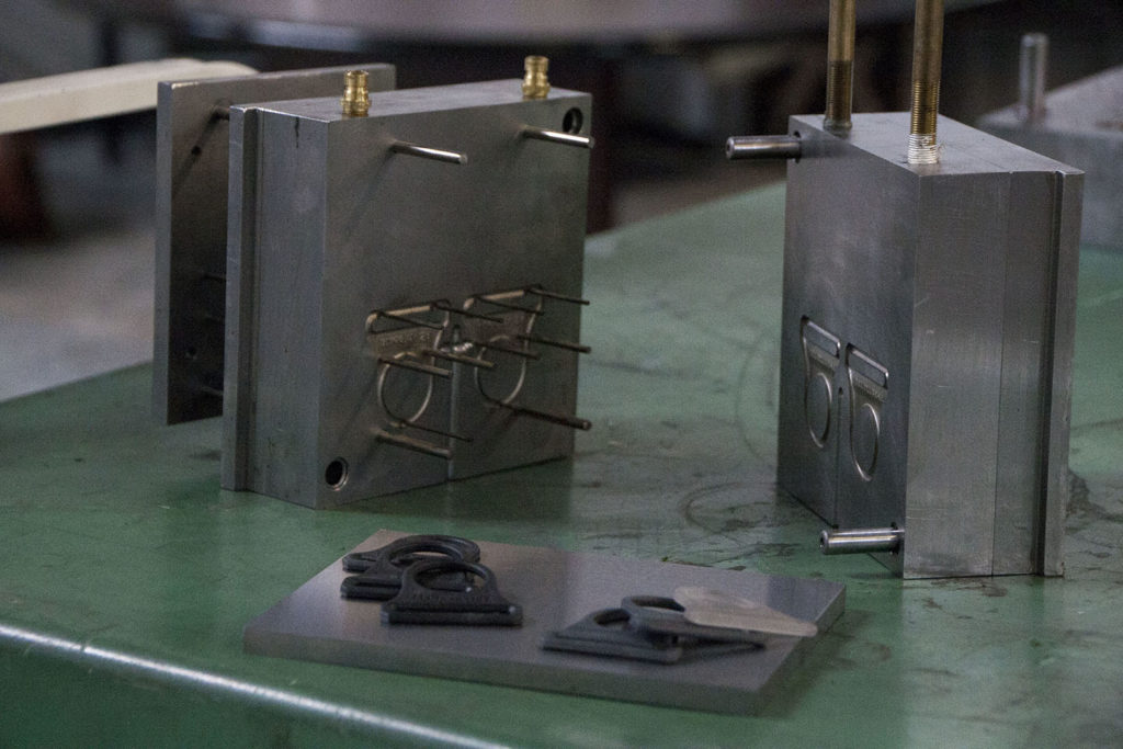 Manufactured plastic parts made in the usa out of metal molds
