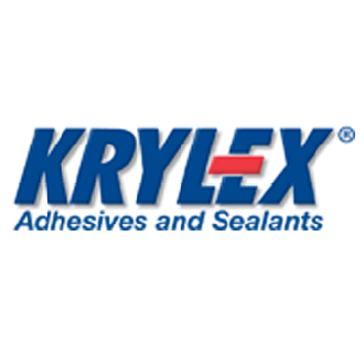 Product design for Krylex adhesives and sealsants logo