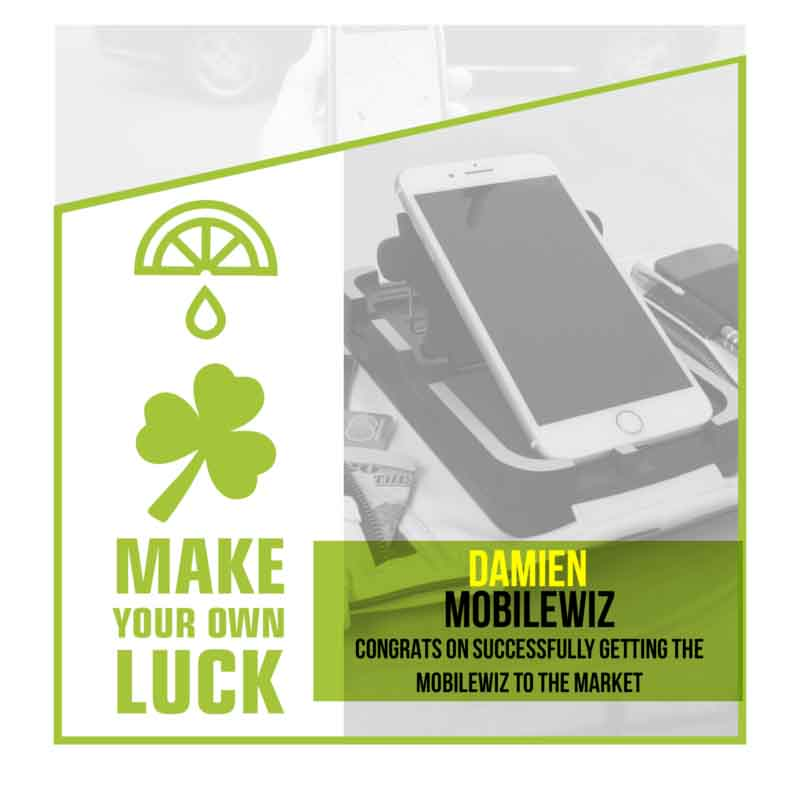 Mobile Wiz smartphone accessory product Patent