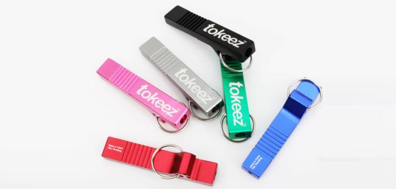 tokeez aluminum extruded novelty cannabis smoking product prototype family shot