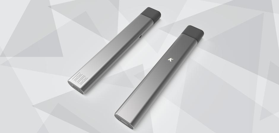 Photo realistic 3D model rendering of Kandypens Rubi vape pen prototype product