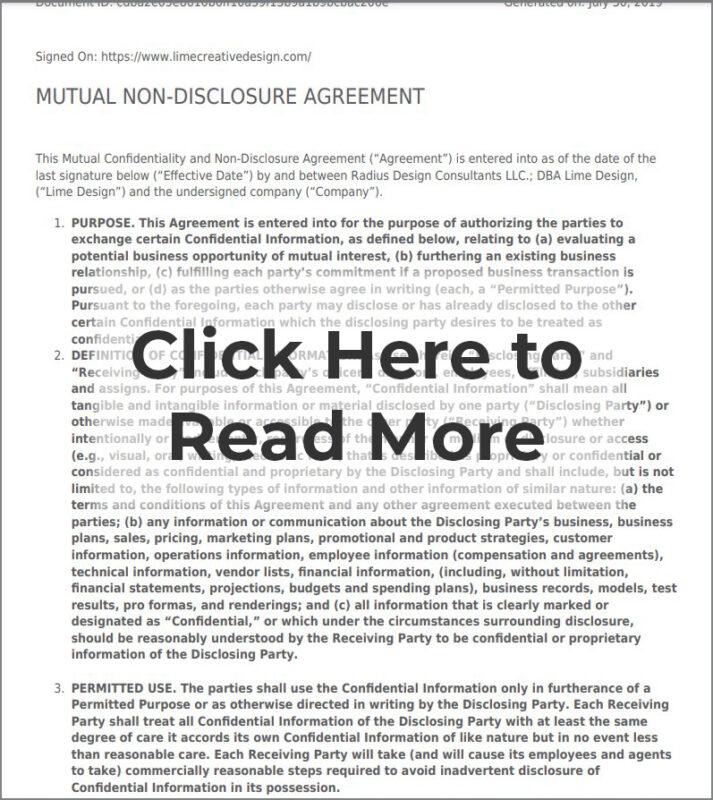 Mutual Non Disclosure Agreement